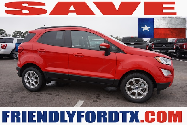 New 2018 Ford EcoSport SE Crossover in Houston Area
