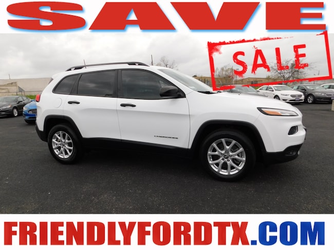 Used 2016 Jeep Cherokee Sport SUV For Sale Near Houston, TX