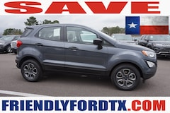 New 2019 Ford EcoSport S Crossover KC262612 in Crosby, TX