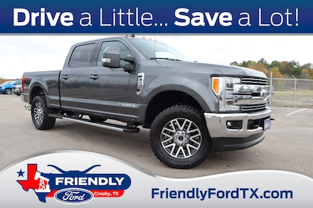 Featured Used 2019 Ford F-250SD Lariat Truck for Sale near Houston, TX
