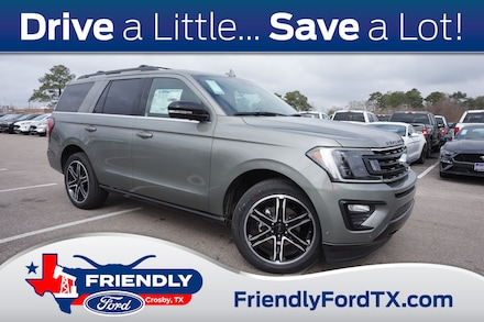 Featured New 2019 Ford Expedition Limited SUV for Sale in Crosby, TX
