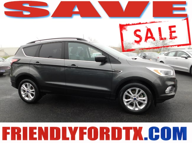 Used 2018 Ford Escape SE SUV For Sale Near Houston, TX