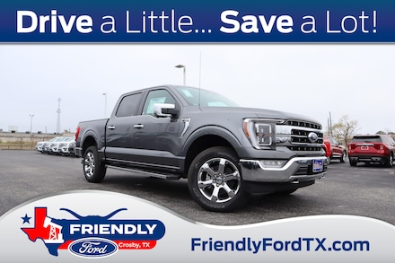 Featured New 2021 Ford F-150 Lariat Truck for Sale in Crosby, TX