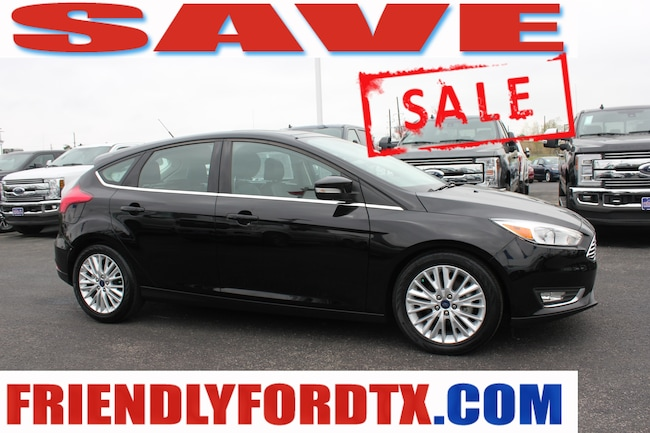 Used 2018 Ford Focus Titanium Hatchback For Sale Near Houston, TX