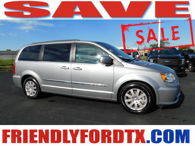 Used 2015 Chrysler Town & Country Touring Minivan/Van For Sale Near Houston, TX