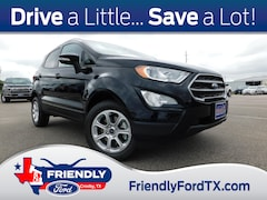 New 2020 Ford EcoSport SE Crossover LC361039 in Crosby, TX