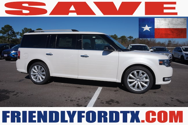 New 2019 Ford Flex SEL Crossover in Houston Area