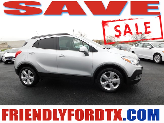 Used 2016 Buick Encore Base SUV For Sale Near Houston, TX