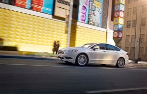 The Ford Fusion ...