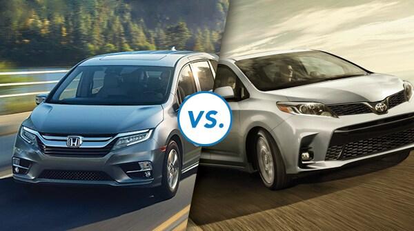 Comparison: 2019 Honda Odyssey vs 2019 Toyota Sienna