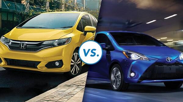 Comparison: 2018 Honda Fit vs. 2018 Toyota Yaris