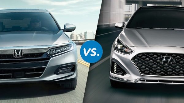 Comparison: 2018 Honda Accord vs. 2018 Hyundai Sonata Friendly Honda