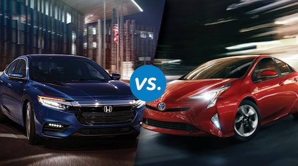 Comparison: 2019 Honda Insight vs Toyota Prius One