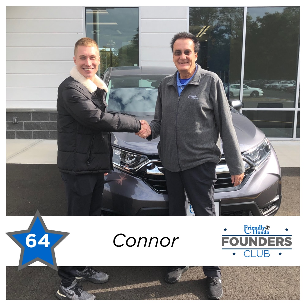 Friendly Honda Founders Club Member 64 Connor