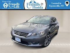 Bargain Used 2015 Honda Accord Sport Sedan for Sale in Fayetteville NY