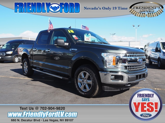 2018 Ford F-150 XLT 4X4 Truck SuperCrew Cab