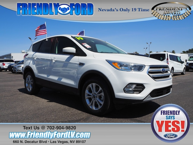 2019 Ford Escape SE Ford Courtesy Vehicle SUV