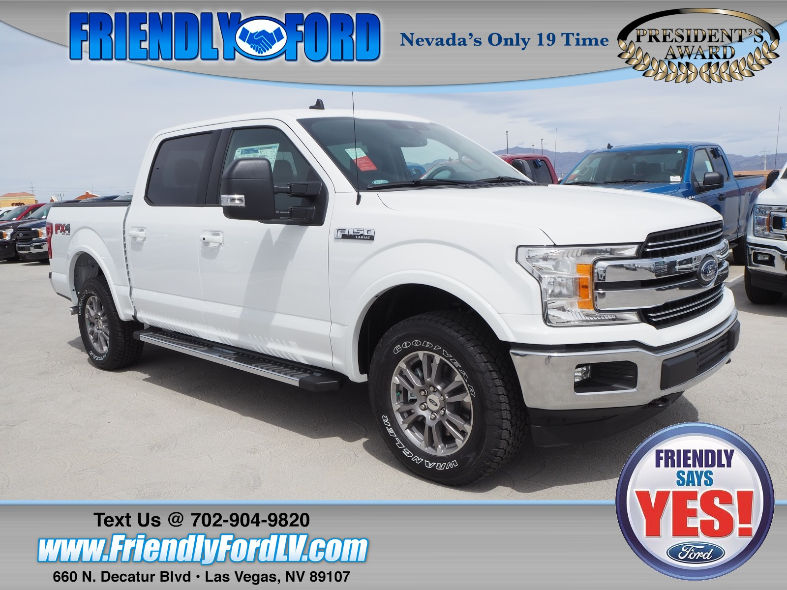 Ford F150 For Sale Las Vegas >> New 2019 Ford F 150 For Sale At Friendly Ford Vin 1ftew1e57kkd28084