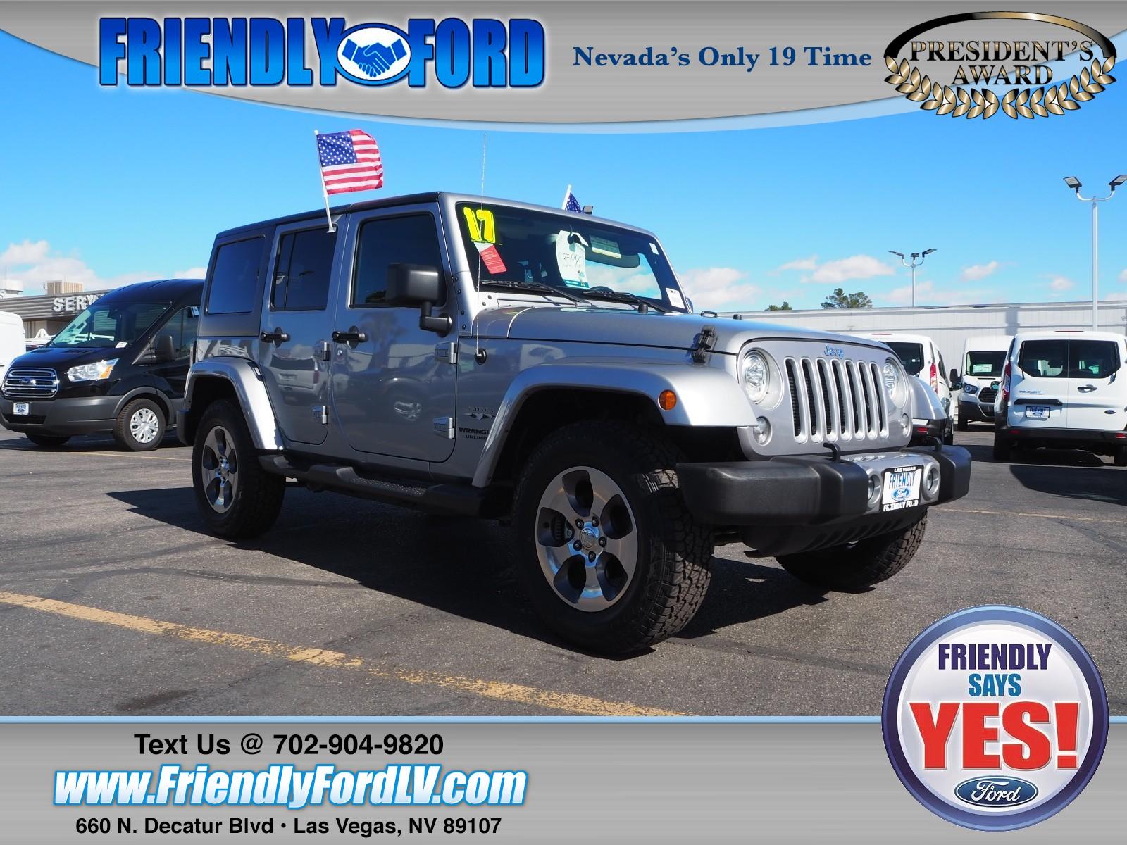 2017 Jeep Wrangler JK Unlimited Unlmted Sahara SUV