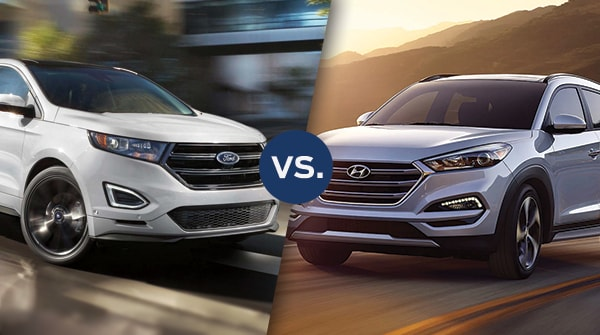Comparison: 2018 Ford Escape vs. 2018 Hyundai Tucson