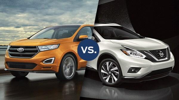 Comparison  Ford Edge Vs Nissan Murano