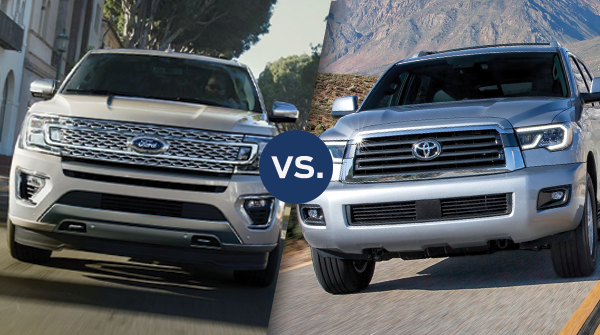 Comparison: 2019 Ford Expedition vs 2019 Toyota Sequoia