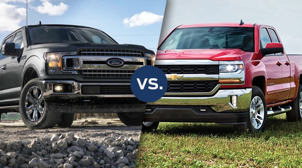 Comparison: 2018 Ford F-150 vs. Chevy Silverado 1500
