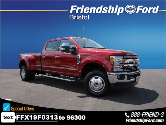 New 2019 Ford F-350SD Lariat Truck in Bristol