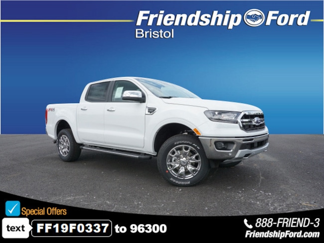 New 2019 Ford Ranger Lariat Truck in Bristol