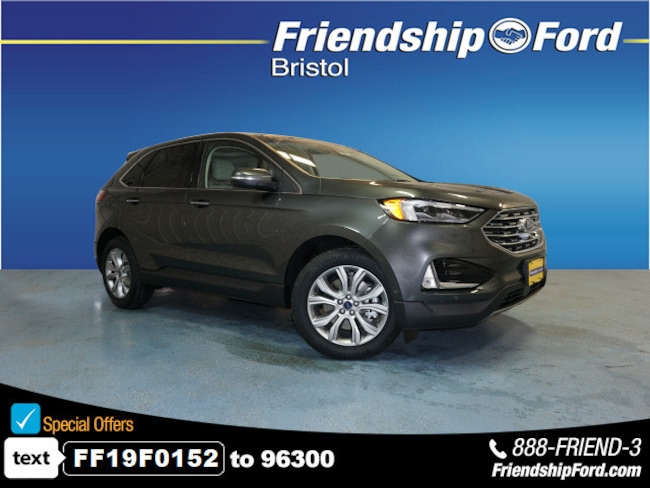 New 2019 Ford Edge Titanium AWD Titanium  Crossover in Bristol