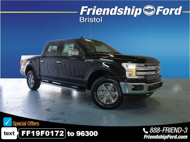 New 2019 Ford F-150 Lariat Truck in Bristol