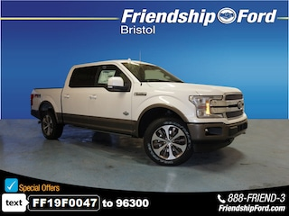 2019 Ford F-150 King Ranch 4x4 King Ranch  SuperCrew 5.5 ft. SB