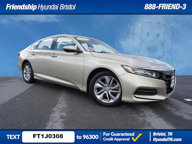 Featured Used 2019 Honda Accord LX LX  Sedan for Sale in Bristol, TN