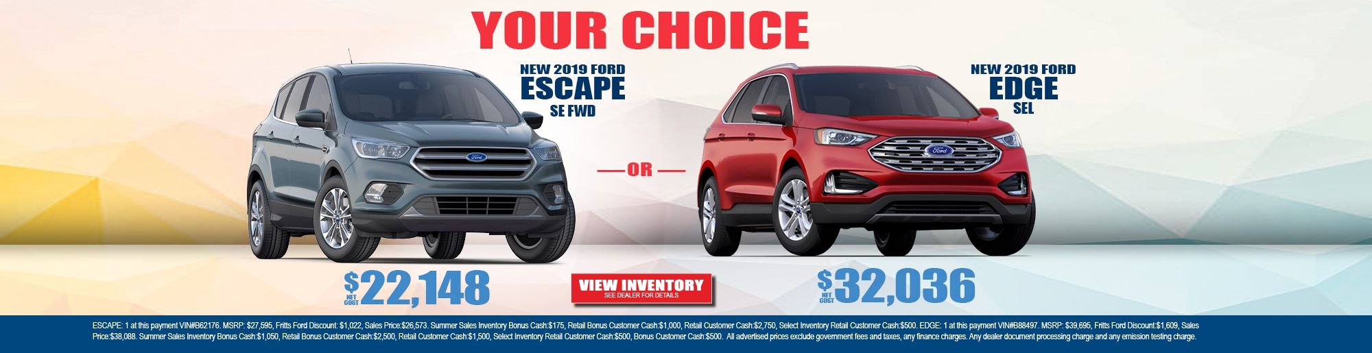 New Used Ford Dealer Riverside Fritts Ford
