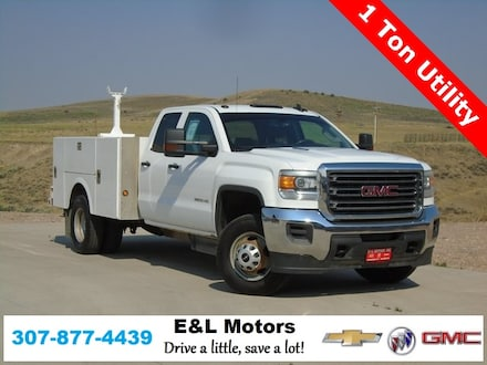 Featured Used 2015 GMC Sierra 3500HD Base Truck for Sale near Evanston, WY