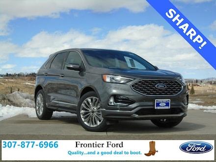 Featured New 2021 Ford Edge Titanium SUV for Sale in Diamondville, WY
