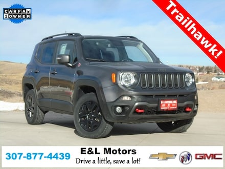 Featured Used 2018 Jeep Renegade Trailhawk SUV for Sale near Evanston, WY