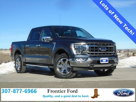 Featured New 2021 Ford F-150 Lariat Truck for Sale in Diamondville, WY
