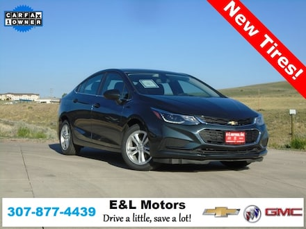 Featured Used 2018 Chevrolet Cruze LT Sedan for Sale near Evanston, WY