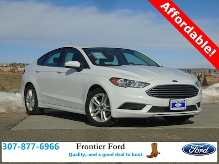 Featured Used 2018 Ford Fusion SE Sedan for Sale near Evanston, WY