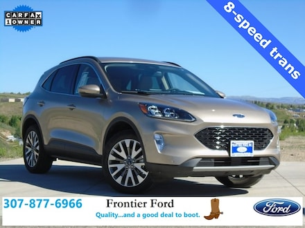 Featured Used 2020 Ford Escape Titanium SUV for Sale near Evanston, WY