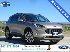 Used 2020 Ford Escape Titanium SUV 1FMCU9J97LUB09048 in Diamondville, WY