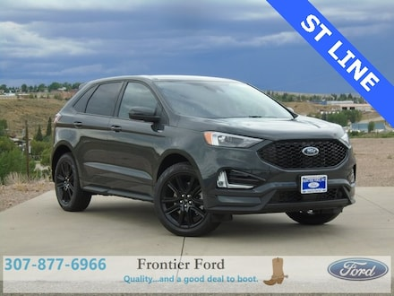 Featured New 2021 Ford Edge ST Line SUV for Sale in Diamondville, WY
