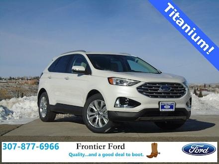 Featured New 2020 Ford Edge Titanium SUV for Sale in Diamondville, WY