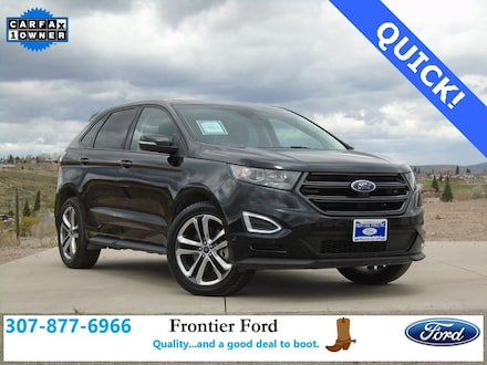 Featured Used 2018 Ford Edge Sport SUV for Sale near Evanston, WY