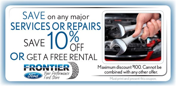 Percent Off Any Major Repair or Maintenance Service, Santa Clara Ford Service Coupon. If no image, this  offer has ended.