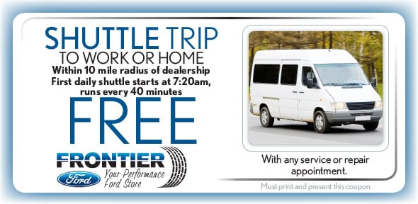 Free Shuttle Service, Santa Clara Ford Service Coupon. If no image, this  offer has ended.