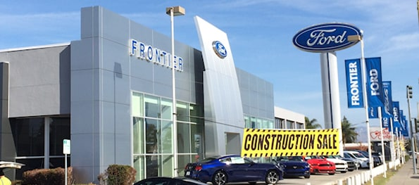 San Josearea Ford Dealership About Frontier Ford - Ford dealerships