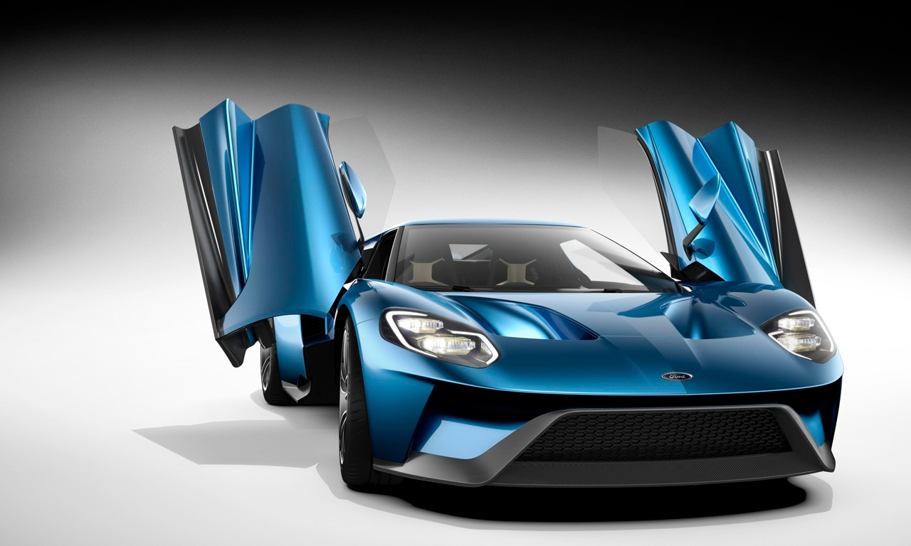 Ford Redefines Innovation With New Gt Supercar