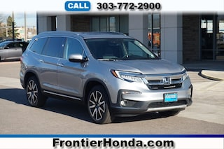 New 2019 Honda Pilot Elite AWD SUV 5FNYF6H07KB028892 for sale in Longmont, CO